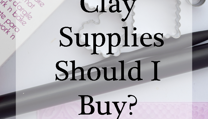 What Oven Bake Clay Supplies Should I Buy? A Beginner's Guide