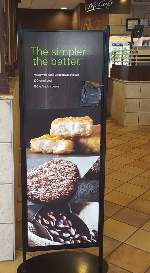 McDonald's Simple is better AD