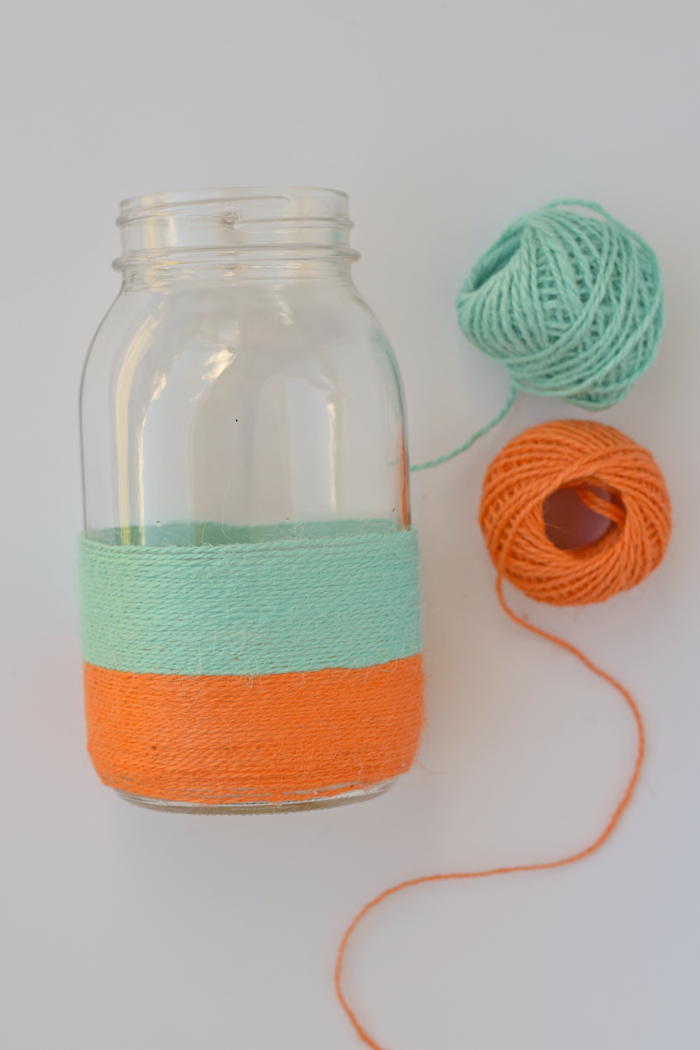 Twine Wrapped Gift Jar AD