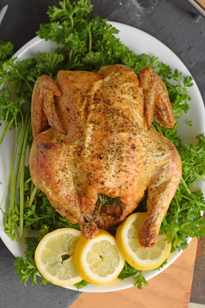 Perfect Oven Roasted Chicken at Home AD