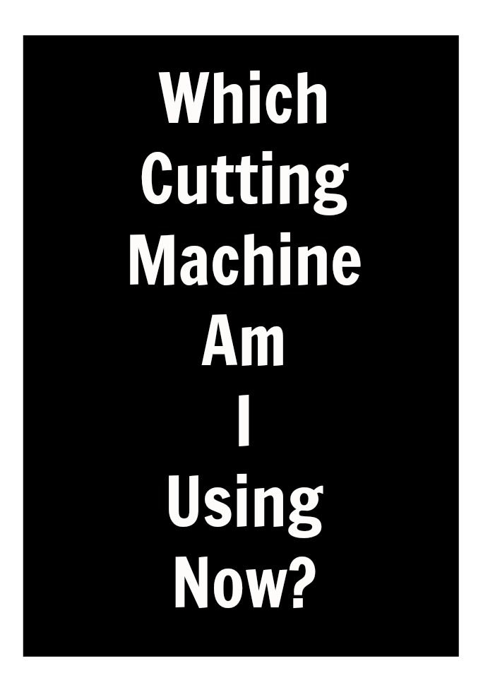 With all of the options of cutting machines out there, which one is the best bang for the buck? I've tried many. See which one I'm using for all of my projects now!