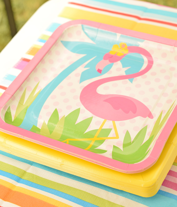Flamingo Birthday Party Ideas for a fun outdoor kid's party