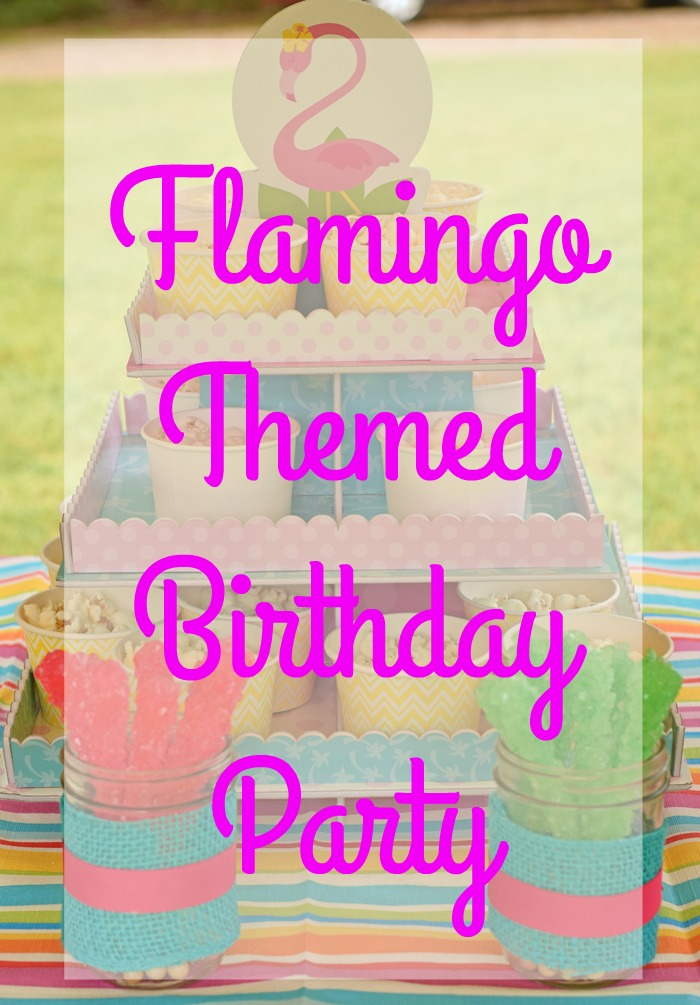 Flamingo Birthday Party Ideas for a fun outdoor children's party
