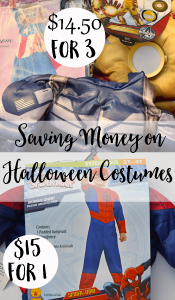 Saving Money on Halloween Costumes