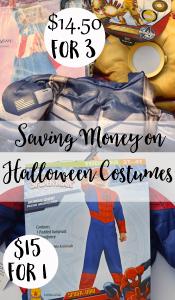 Saving Money on Halloween Costumes