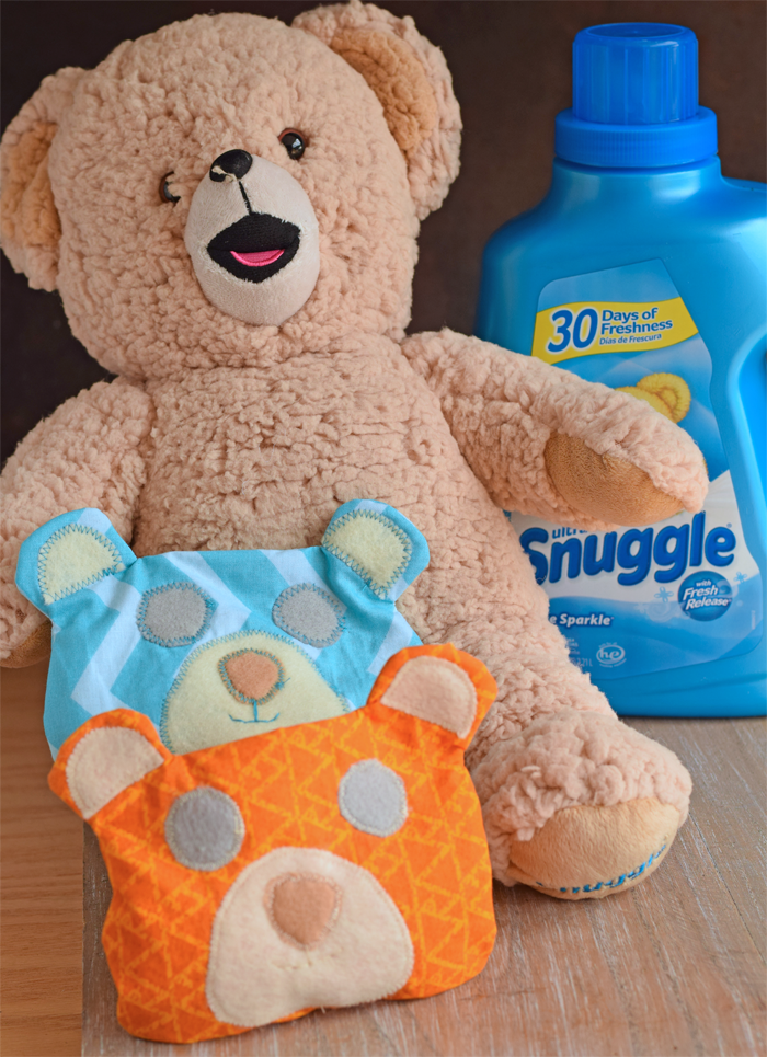 Sew a Bear Cold Pack Buddy to bring kids comfort when they get bumps and bruises AD