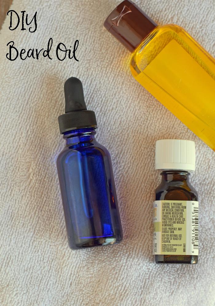 DIY Beard Oil with essential oils