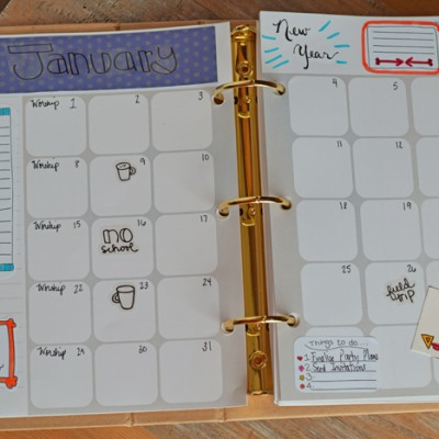 The Five Minute Planner Page