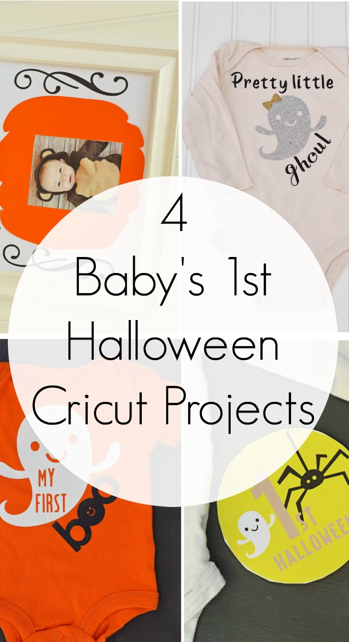 4 Baby's First Halloween Cricut Projects AD