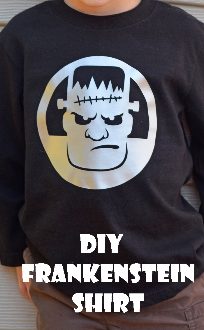 10 Minute Frankenstein Shirt + Cricut Explore Air 2 Review AD