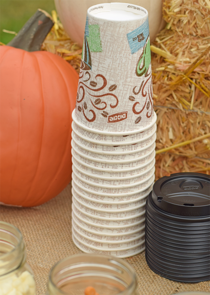 Fall Hot Chocolate Bar is a great addition to potlucks, chicken stews, or other autumn gatherings! AD
