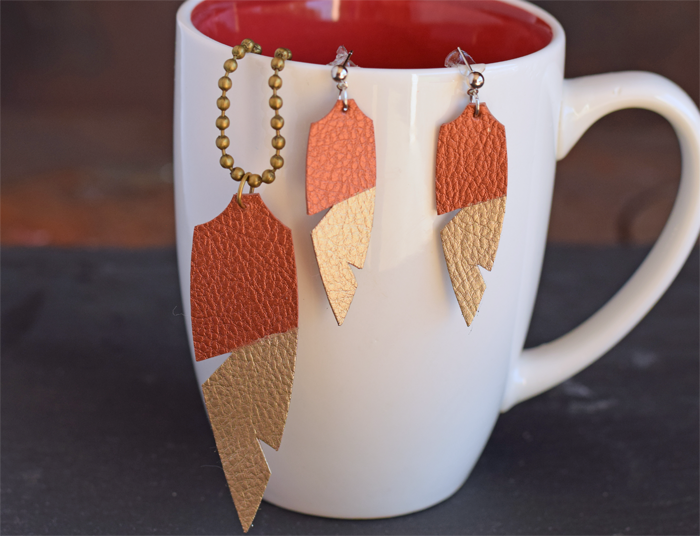 Diy Faux Leather Jewelry And Giveaway