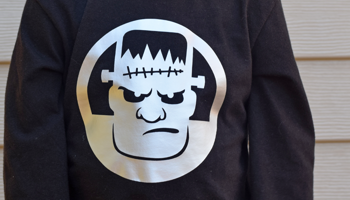 10 Minute Frankenstein Shirt + Cricut Explore Air 2 Review AD