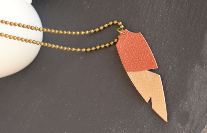 DIY Faux Leather Jewelry made with the Cricut Explore