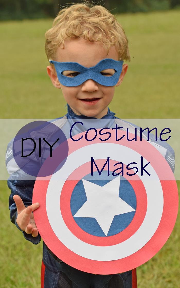 Last Minute DIY Costume Mask