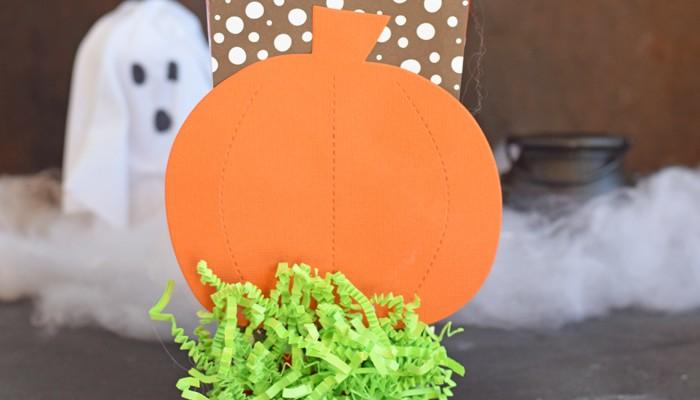Great Pumpkin Popcorn Box