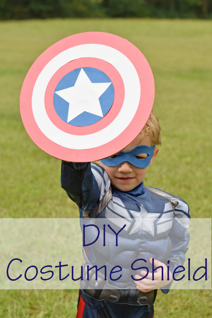 Last Minute DIY Costume Shield