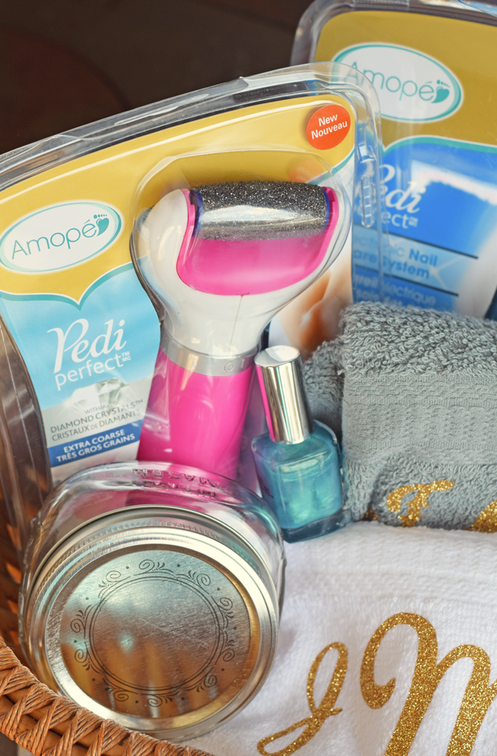 Spa Gift Basket Ideas AD