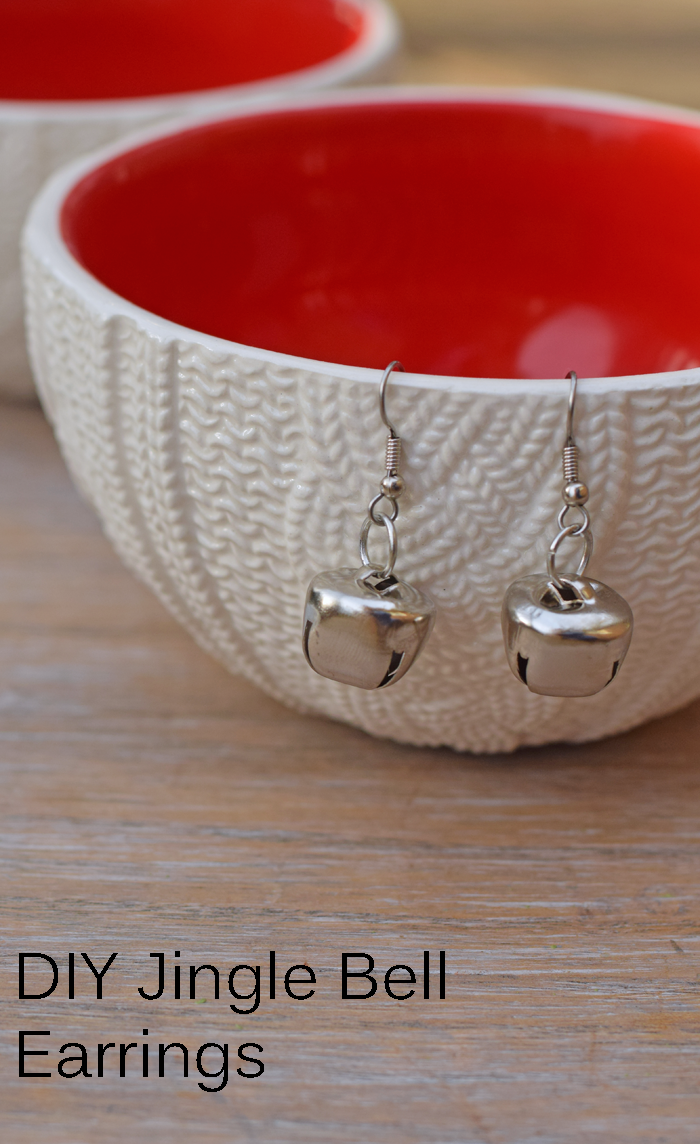 Diy Jingle Bell Earrings
