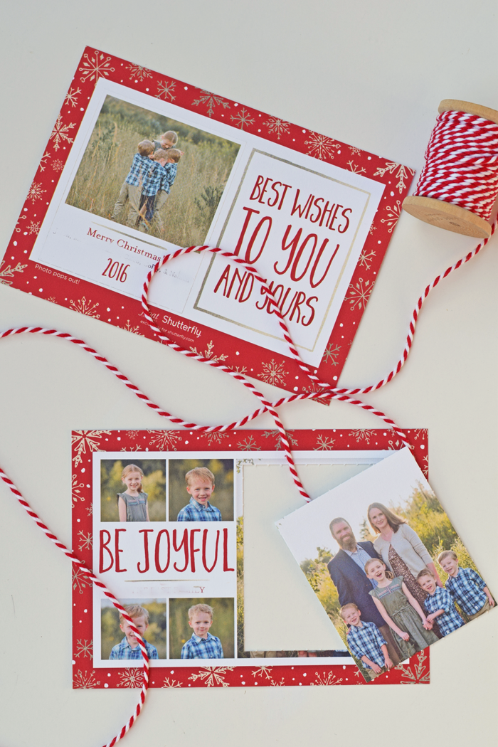 Shutterfly pop out Card AD