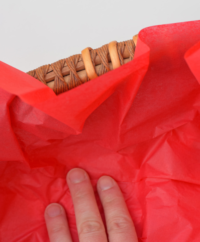 Assembling an Elfing Neighbor Gift Basket AD
