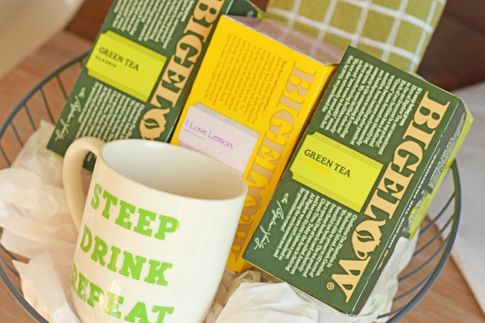 Tea Lover's Gift Basket AD