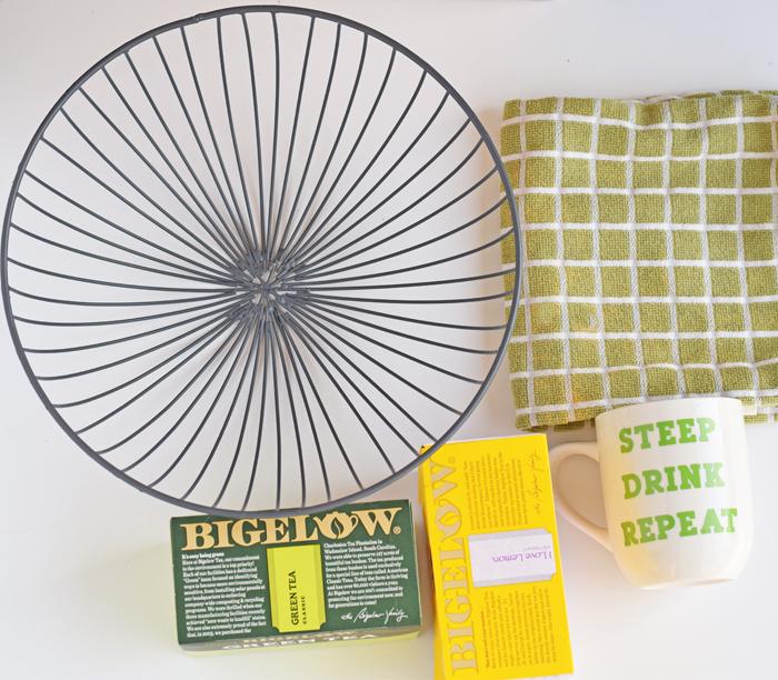 Tea Lover's Gift Basket AD