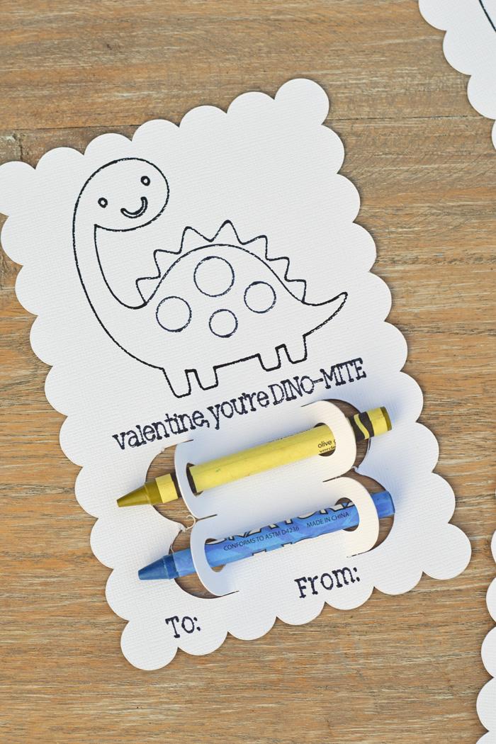 DIY Crayon Classroom Valentines with Cricut Explore Air