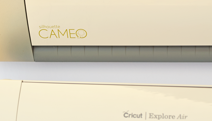 Silhouette Cameo Vs. the Cricut Explore Air. Read one crafter's experience with both machines.