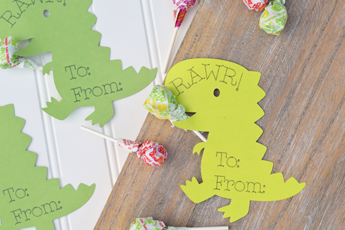 Classroom Ideas Using Cricut ~ Dinosaur classroom valentines with cricut