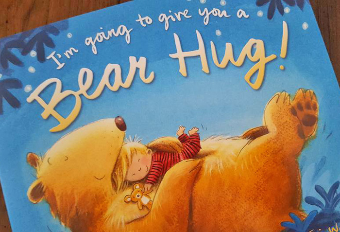 I'm Going to Give You a Bear Hug Children's Book Review AD