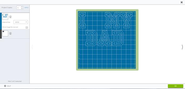 DIY I {Heart} My Dad Valentine's Day Shirt made with heat transfer vinyl