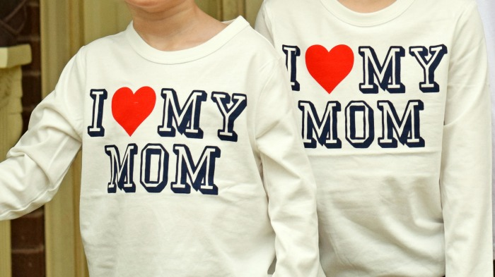 OshKosh I Heart My Mom Shirts