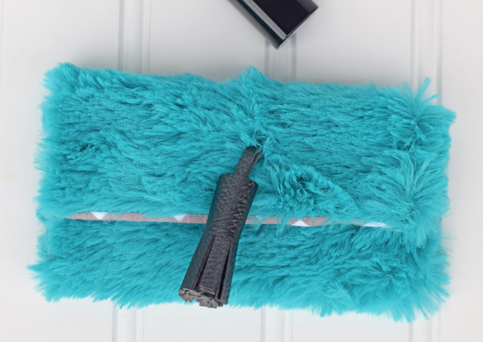 Faux Leather Tassel made with the Cricut Explore Air 2