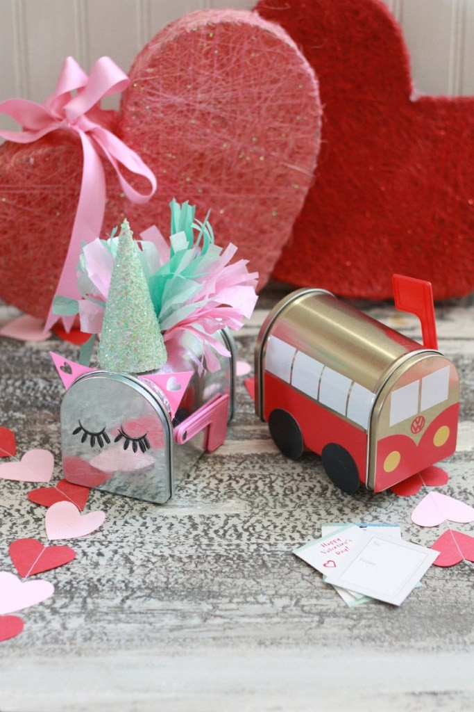 Valentine Mailboxes from Everyday Jenny