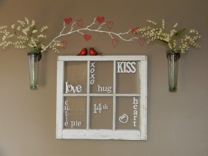 Valentine's Word Window from Organize Your Stuff Now