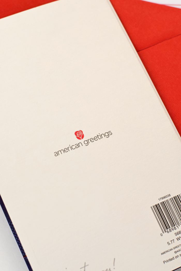 American Greetings Card for Valentine's Day AD