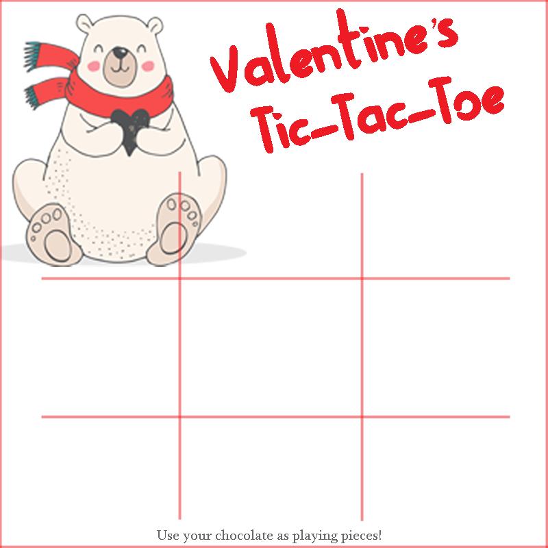 Valetines Tic Tac Toe AD