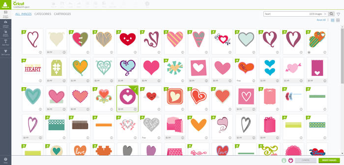 How to Bookmark an Image in Cricut Design Space