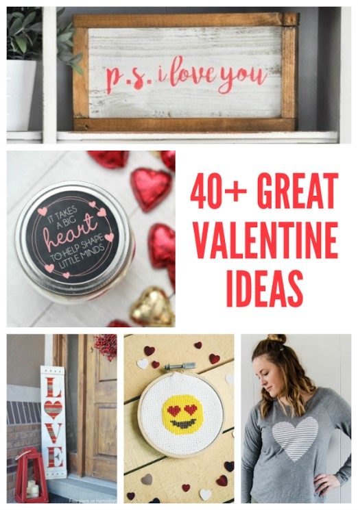 40+ Great Valentine crafts and ideas
