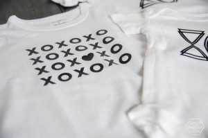 Modern Valentine's Day shirts from Lemon Thistle