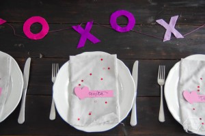 Valentine's Day Place Cards from Lemon Thistle
