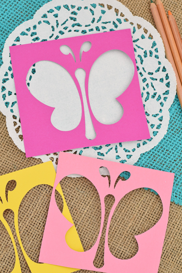 Create-a-Butterfly Station Springtime Party Ideas for kids AD