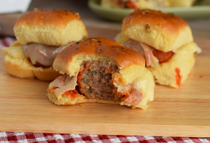 Easy Meatball Sliders are a delicious dinner recipe for the family AD