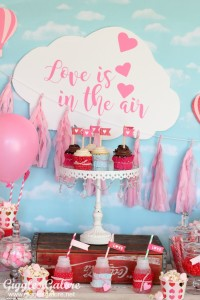 Love is in the Air Valentines Party from Giggles Galore