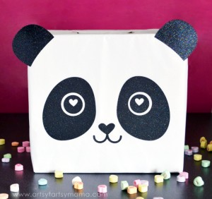 Panda Card Box from Artsy Fartsy Mama