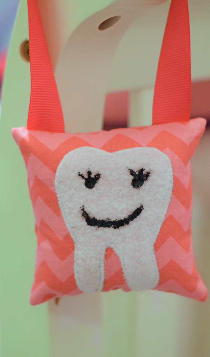 DIY Tooth Fairy Pillow AD