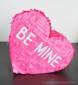 Faux Valentine Pinata from Artsy Fartsy Mama