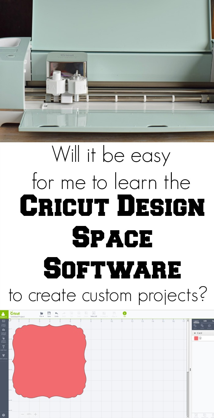 Will It Be Easy for Me to Learn the Cricut Design Space Software to Create my Own Custom Projects? See one crafter's opinion here! AD