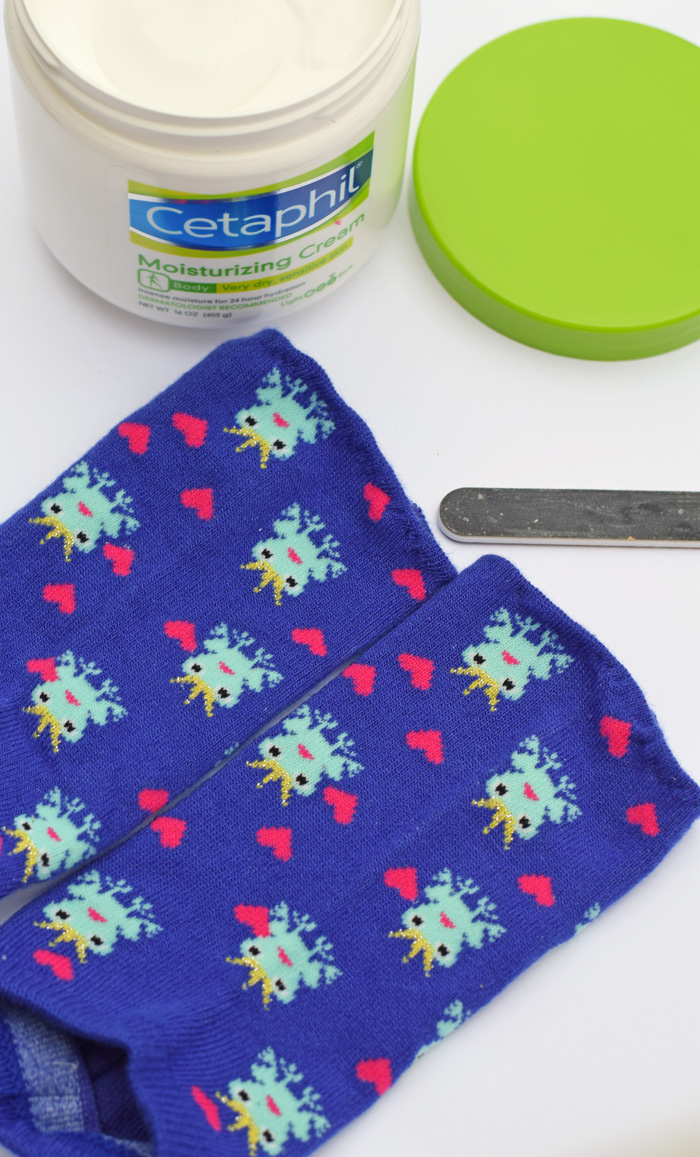 DIY Pedicure Socks sewing tutorial AD